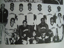 1985 - Canadian Futsal Team, Heading for Spain, coached by Brazilian Carlos Mateus -1985