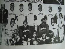 1985 - Canadian Futsal Team, Heading for Spain, coached by Brazilian Carlos Mateus -1985