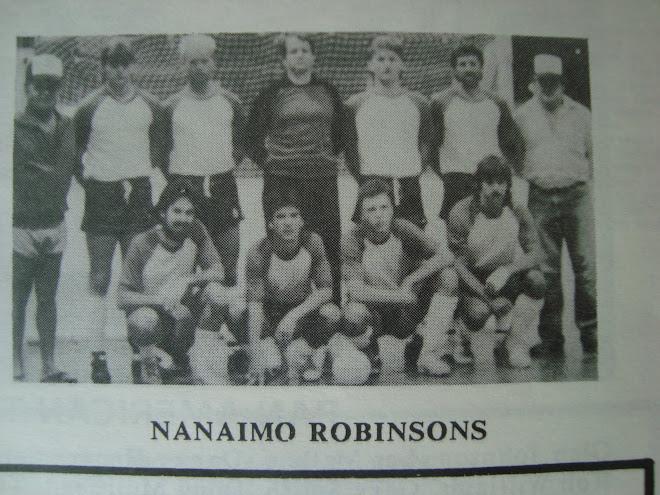 Futsal League at Nanaimo Civic Arena 1988.