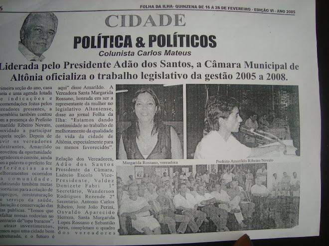 Jornalista Carlos Mateus : Folha da Ilha Parana