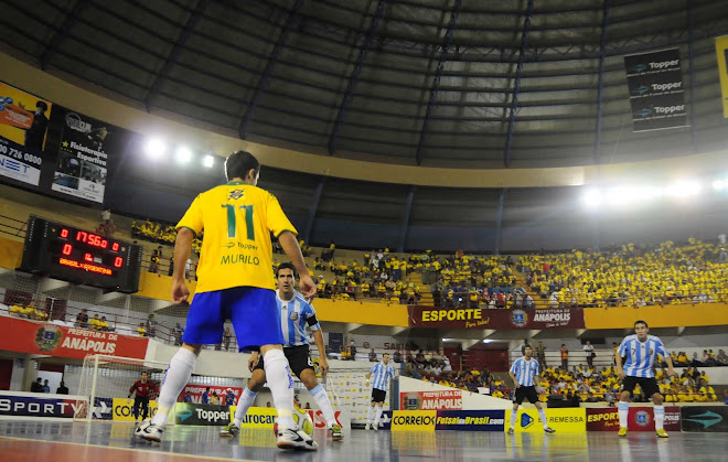 FIFA Senior Vice President and Argentina FAF President Grandona in Futsal Olympic drive seat