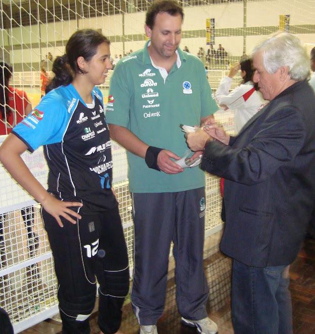 Brazilian  WOMEN FUTSAL champions UnoChapeco :  MAKING FIFA HISTORY