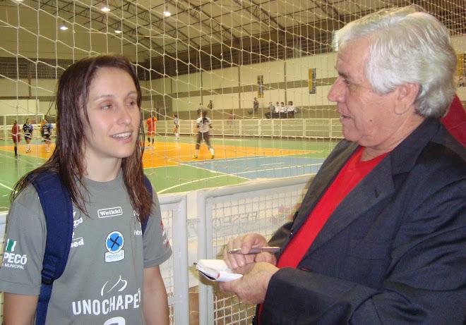 Futsal Catarinense  leading women FIFA FUTSAL League  Chapeco and Caçador  final 2010