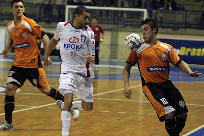 Coach Paulo Musalen's  Carlos Barbosa Futsal team Sponsored by Tramontina  wins Poker Pec  6 to 3: