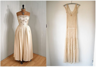 Renewing Vows Dresses on 1960 S Strapless Dress   1920 S Flapper Wedding Dress
