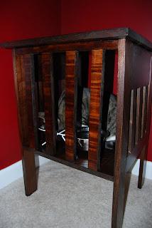 the hamilton family homemade dog proof cat feeder. Black Bedroom Furniture Sets. Home Design Ideas