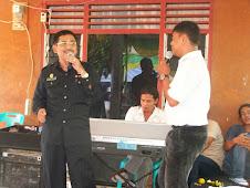 bernyanyi acara Halal bi Halal Kadis Pora