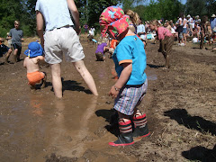 the mud bog at Da Vinci days