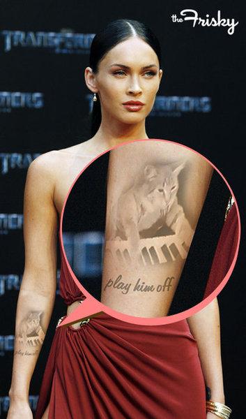 Megan Fox Tattoos 2015