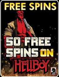 Play Hellboy at Crazy Vegas Casino