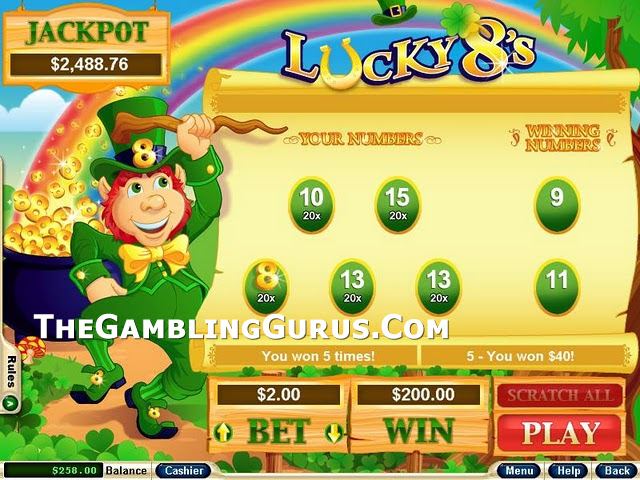 Play Lucky8's Scratch Cards