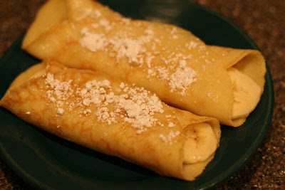 sugar crepes recipe