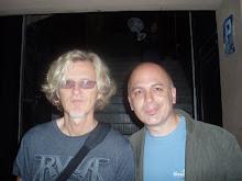 Con Roine Stolt en Bcn (2010)