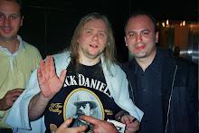 Con Clive Nolan