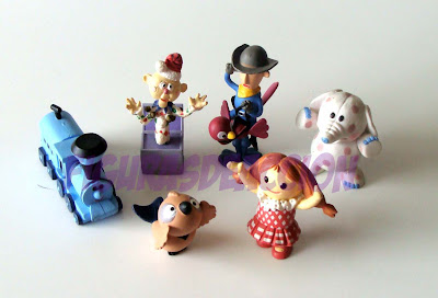 Rudolph los juguetes de peluche con renos nariz roja