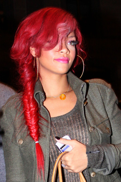 rihanna red hairstyles. rihanna red hairstyles.