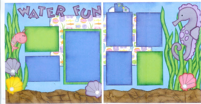 Water Fun - Designed by Diane Kelly