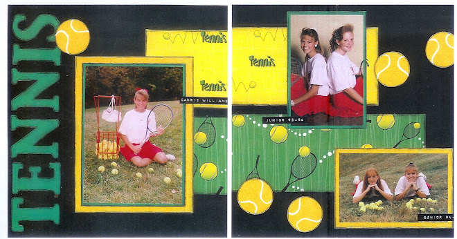 TENNIS- - Designed by Diane Kelly