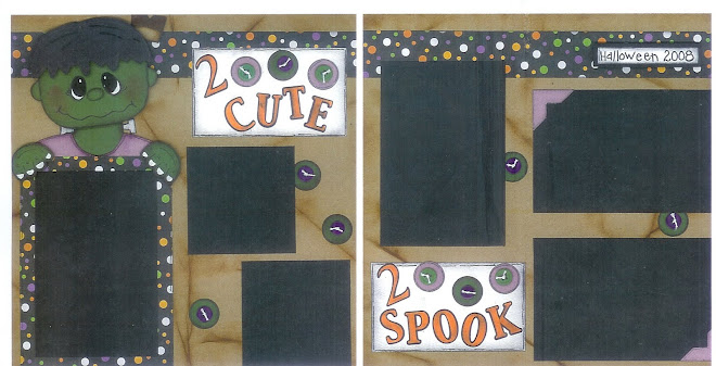 2 Cute 2 Spook - Designed by Diane Kelly