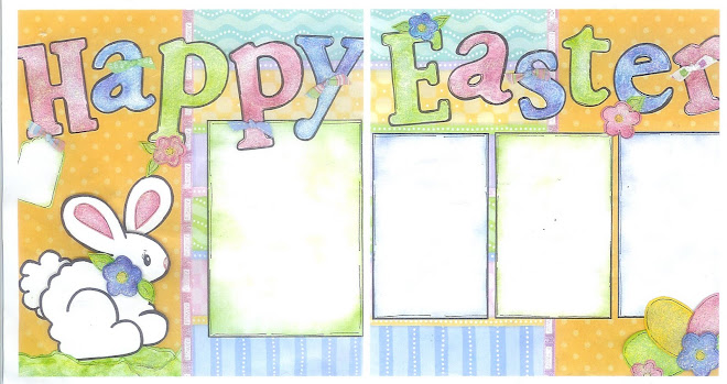 Happy Easter -- Designed by Diane Kelly