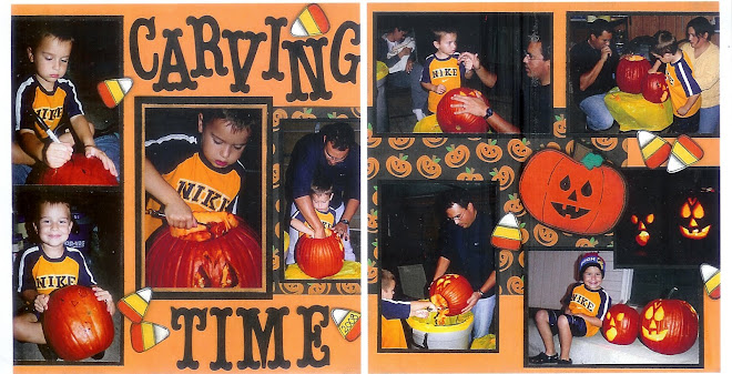Carving Time - Designed by Diane Kelly