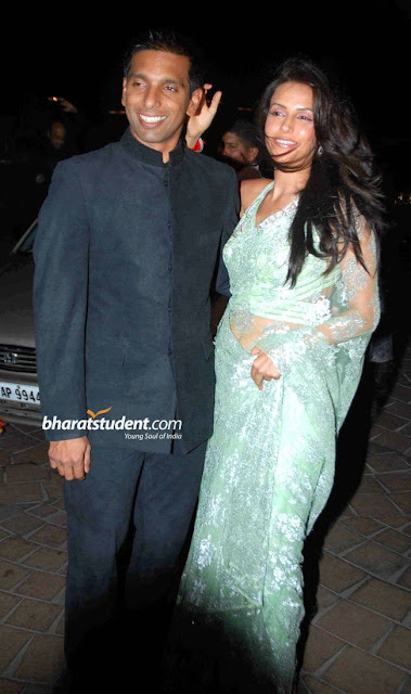 Neha Dhupia Amrita Arora Wedding Saris