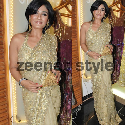 Raveena Tondon In Designer Saree