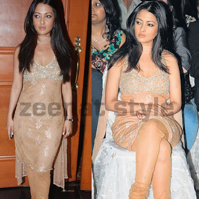 Riya Sen At Bharat n Dorris Awards