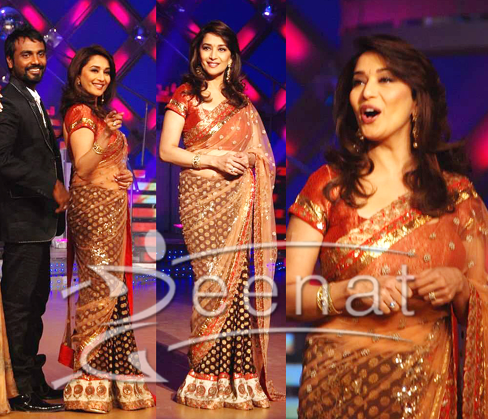 , Madhuri pics in saree