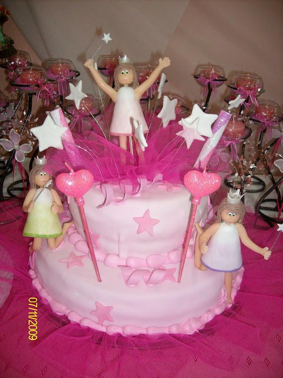 Torta hadas magicas