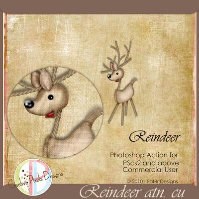 reindeer action