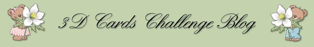 3D Cards Challenge Blog