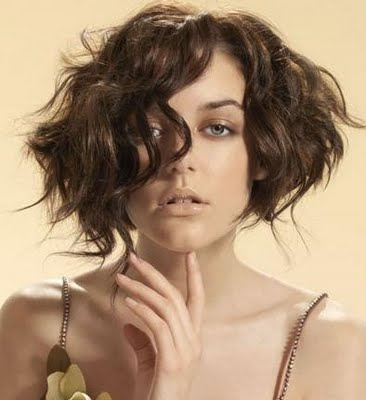 Short Hairstyles Of Celebrity Best Curly Bob Wavy Hairstyles With