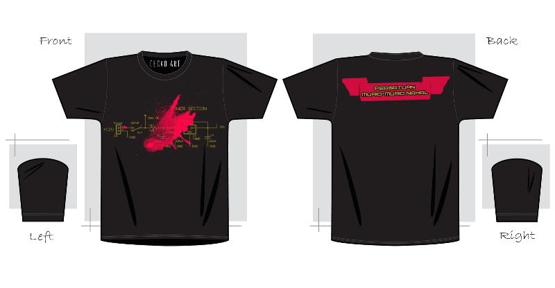 Go gecko t shirt sample design for T shirt sample design