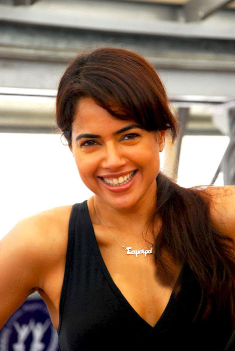 sameera reddy in gym hot photoshoot