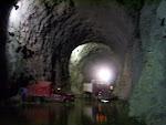 Túnel de desvio No.1   salida