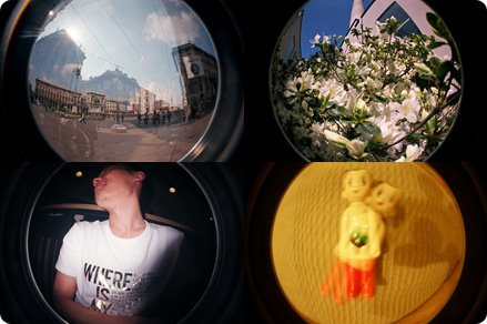 Una*s LOMO Fisheye vol.04&05
