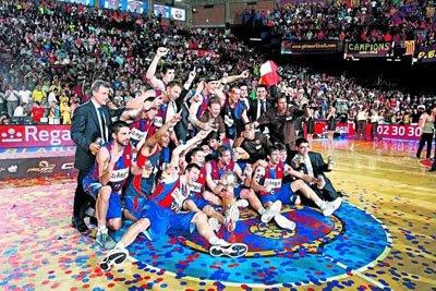 FINAL ACB  => Tau Cerámica(1) - Regal Barcelona(3) 2009BarcaCampioACB6