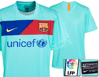 Barcelona new away jersey