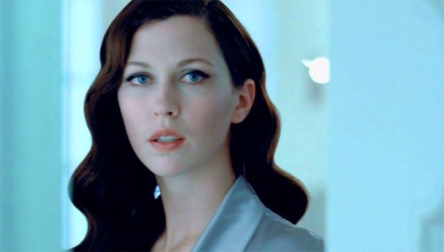 Modelo en el anuncio de Rexona Crystal