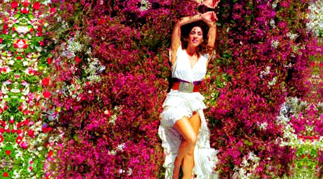 Rosario Flores en el anuncio De mil colores