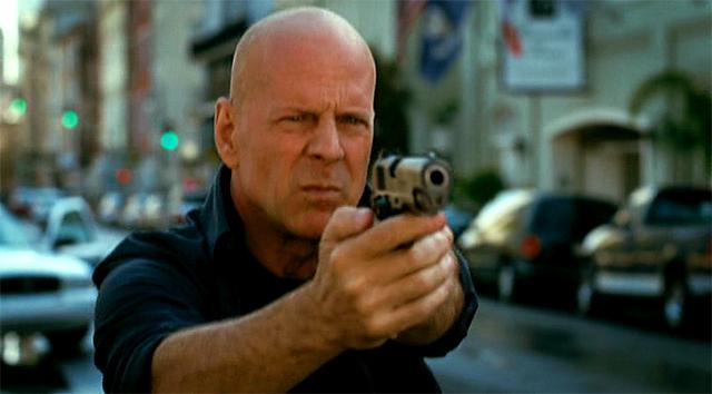 Bruce Willis en una imagen de la película RED