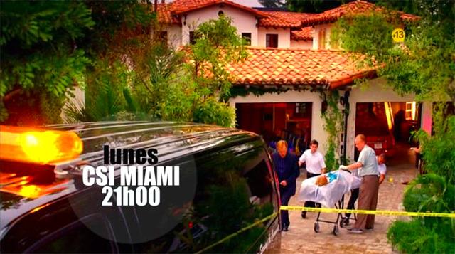 Imagen de la Promo Telecinco Series CSI Miami y CSI Nueva York 1ª Semana Febrero 2011