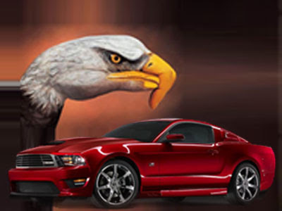 saleen mustang wallpapers. 2010 Saleen S281 Mustang Performance Vehicles revealed their new S281 model