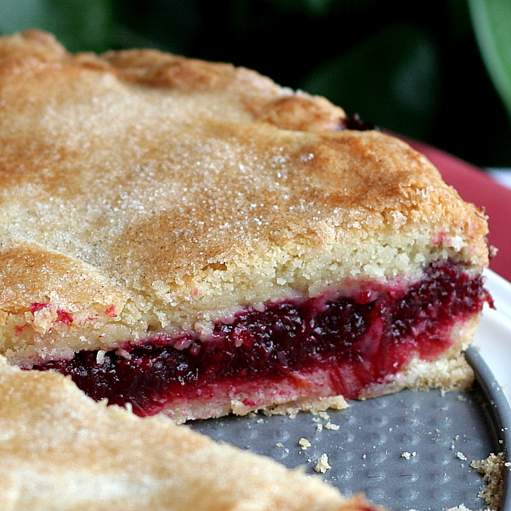 Cranberry Shortbread Cake Dorie Greenspan