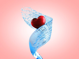 Carrying Love Heart Wallpaper