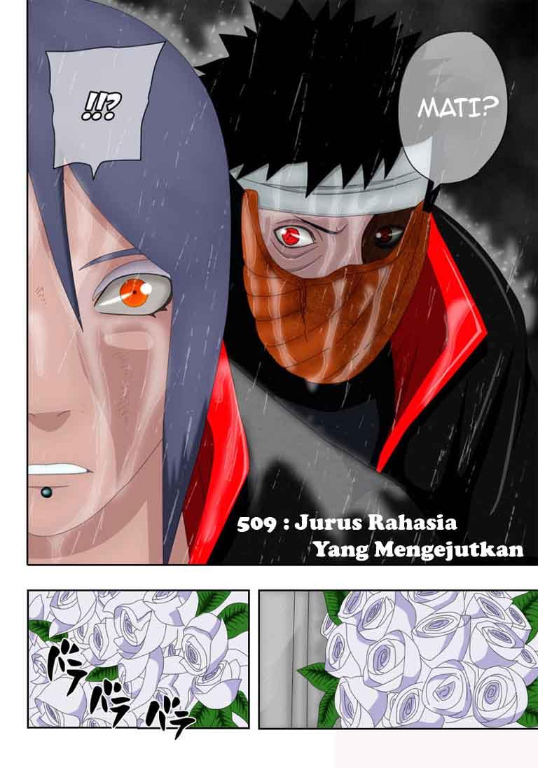 Hello Anime Manga Today Naruto 510 Full Color Konan Dengan Uciha ...