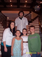 Gage,Christian, Aric,Amy and Faith