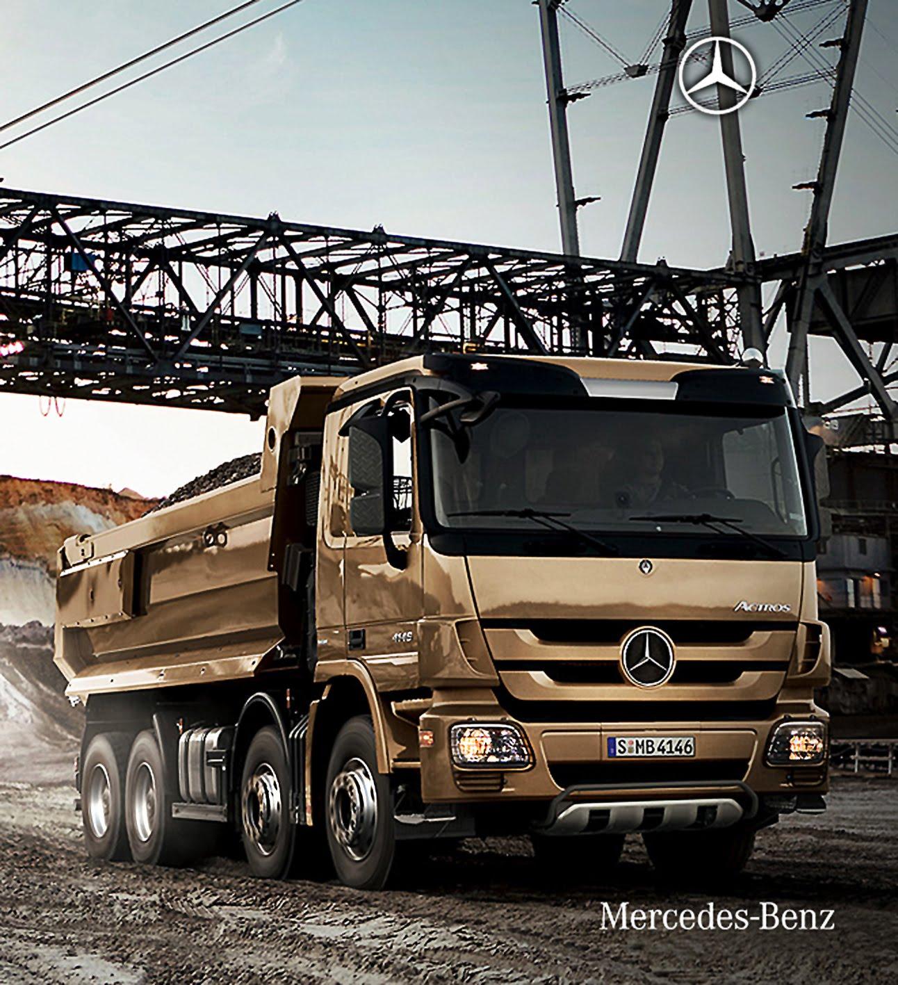 camiones mercedes benz en alemania. Black Bedroom Furniture Sets. Home Design Ideas