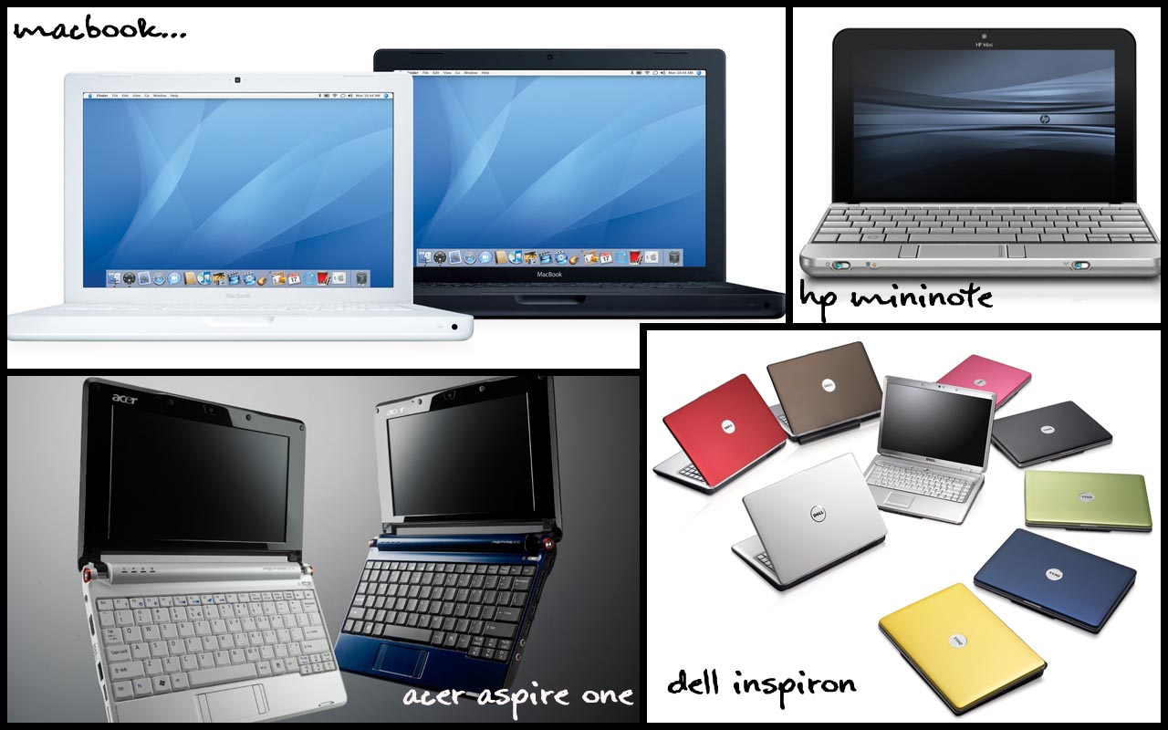 perbedaan laptop notebook netbook tablet laptop notebok